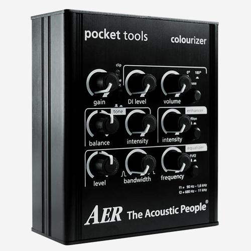 AER Pocket tools 어쿠스틱 프리앰프 이펙터COLOURIZER