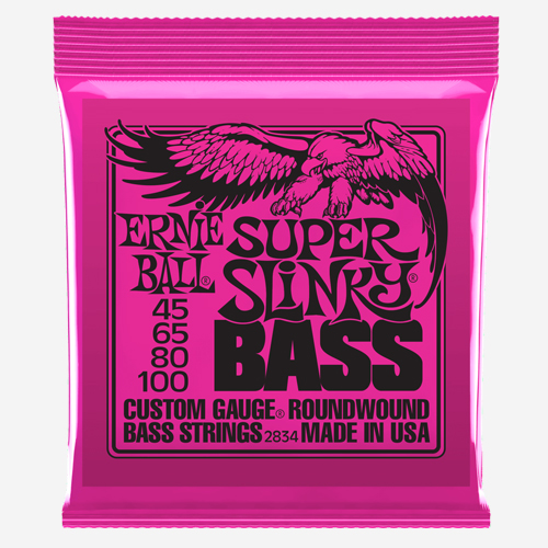 어니볼 Nickel Wound Electric Slinky Bass (045)