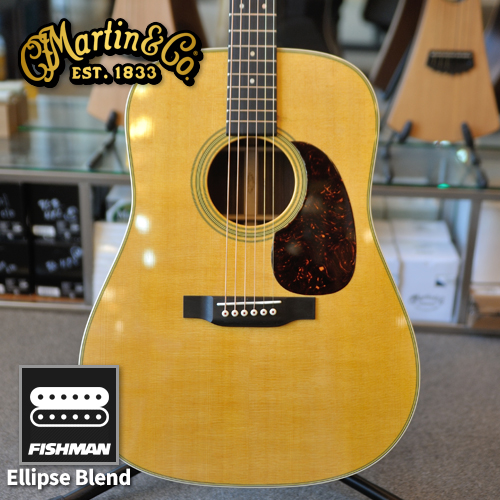 Martin 마틴 Standard Reimagined 2017년형 어쿠스틱기타 New D-28E, D28E (Ellipse Matrix Blend)