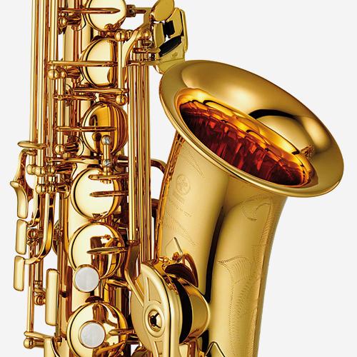야마하 YAS-480 알토 색소폰 Gold lacquer