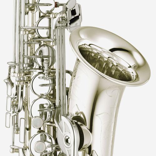 야마하 YAS-480 알토 색소폰 Silver plated