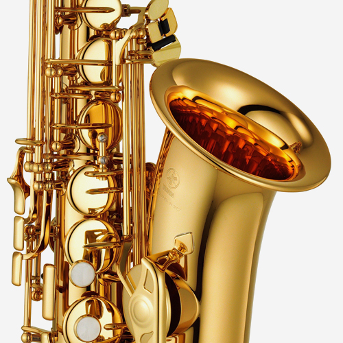 야마하 YAS-280 알토 색소폰 Gold lacquer
