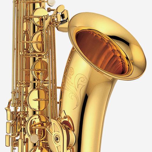 야마하 YTS-475 테너 색소폰 Gold lacquer