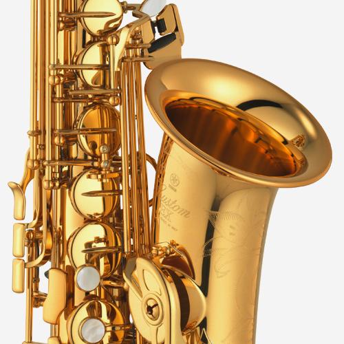 야마하 YAS-875EX 알토 색소폰 Gold lacquer