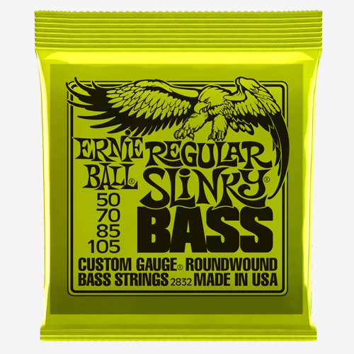 어니볼 Nickel Wound Electric Slinky Bass (050)